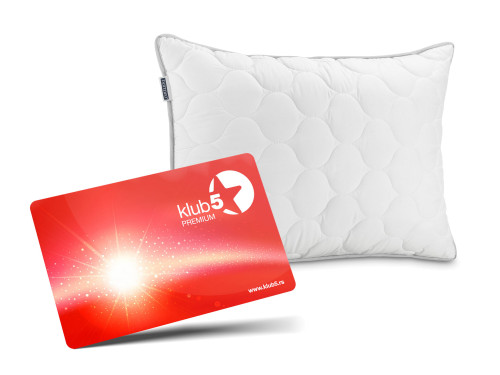 Postanite član Kluba 5* i dobijate Jastuk My Comfort za SAMO 1 dinar!