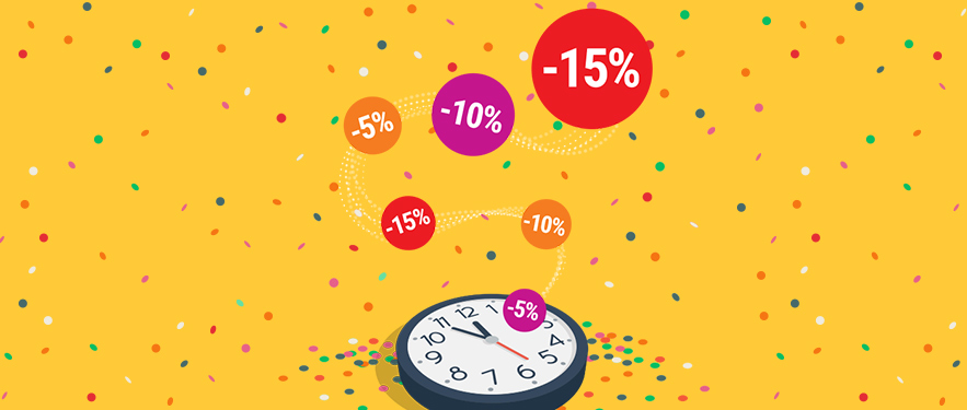 Happy Hour -15% na SVE